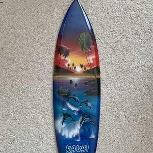 Other - Kauai Surfboard Wall Decor